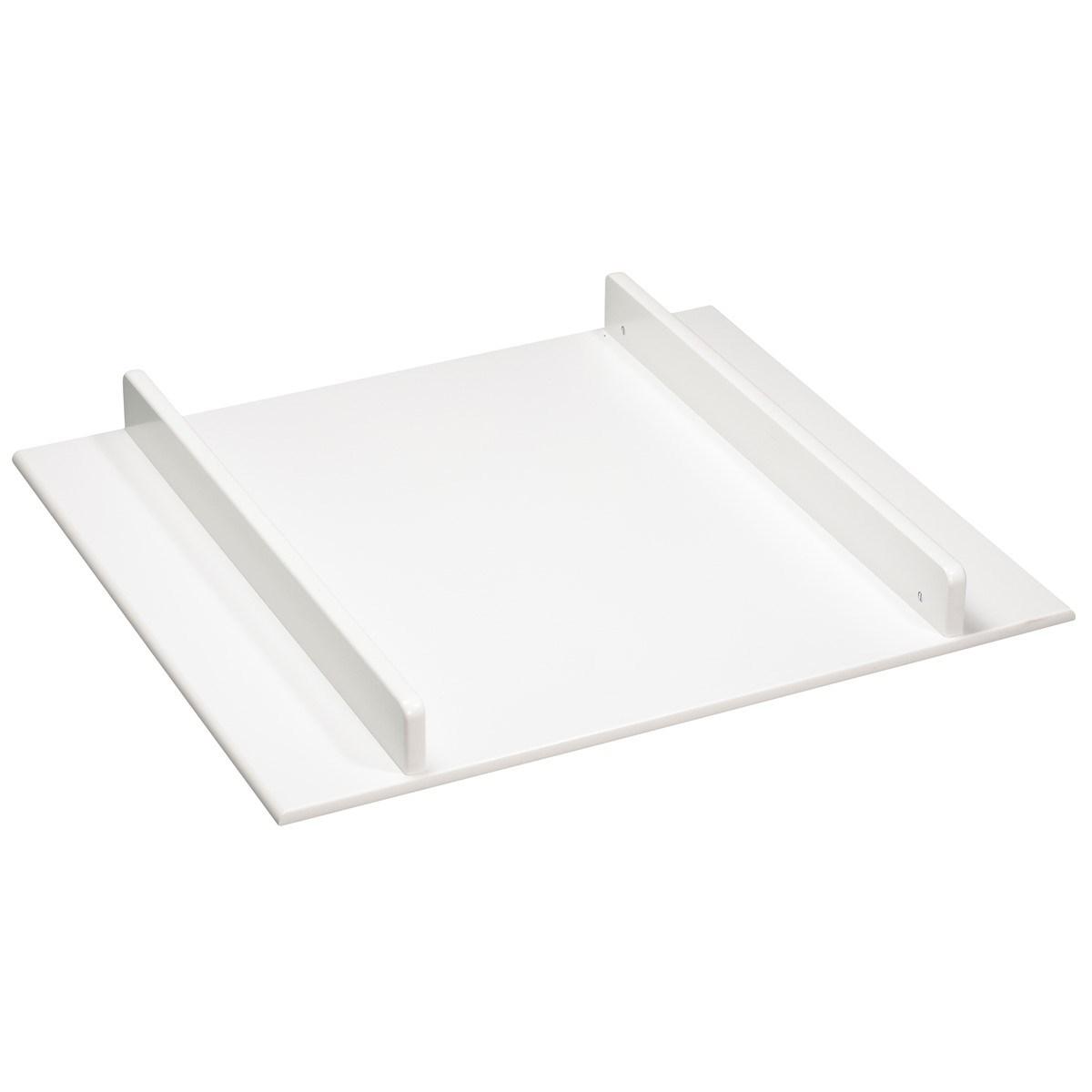 Plan à langer pour commode en bois blanc