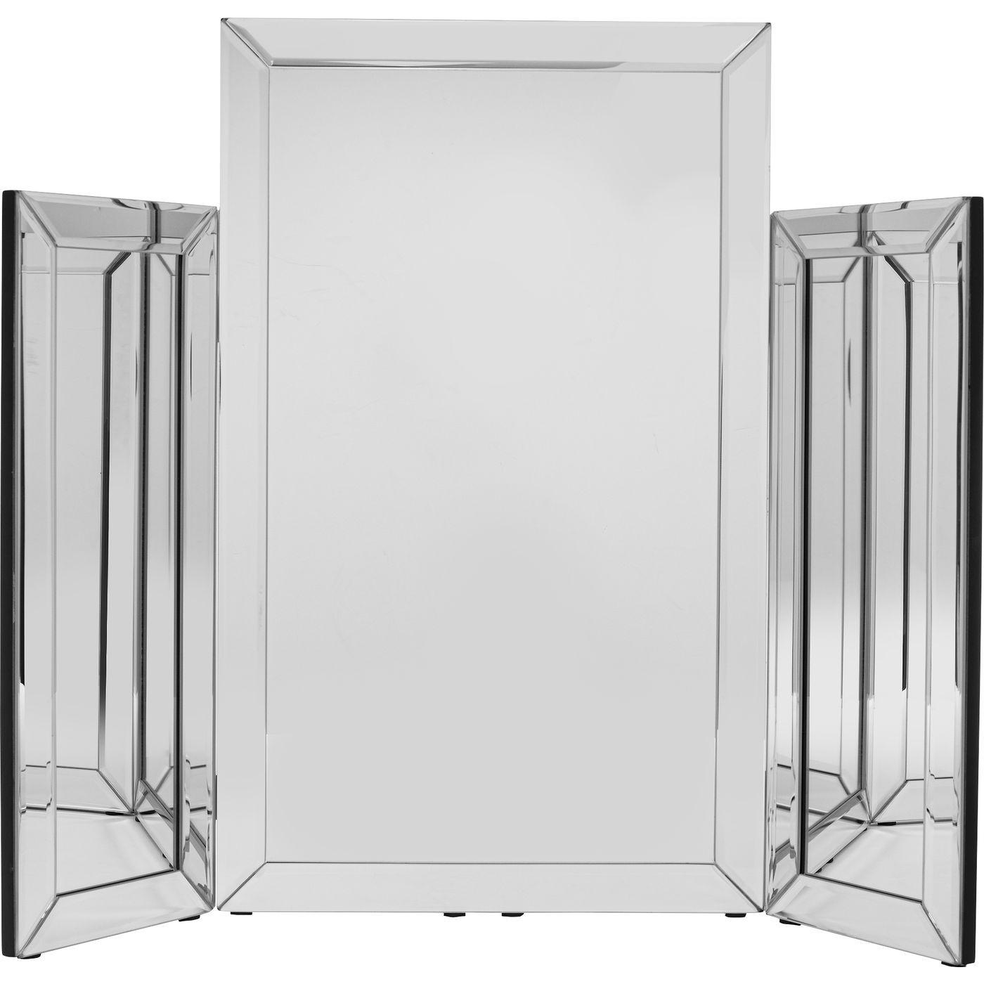 Miroir de table trois sections 60x75