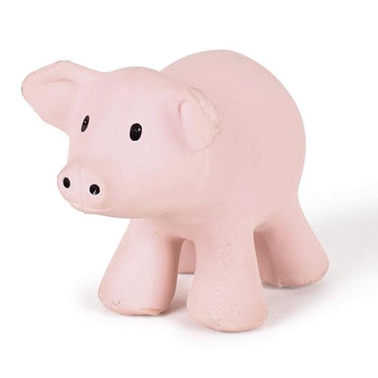 Cochon en caoutchouc naturel