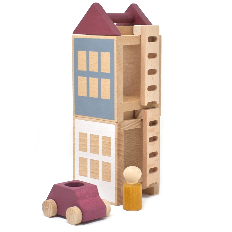 Jeu de construction Petite ville d'Automne
