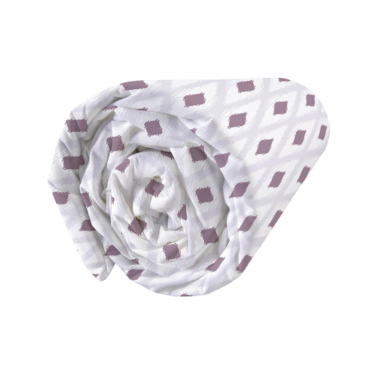 Drap-housse imprimé en coton 90x190cm