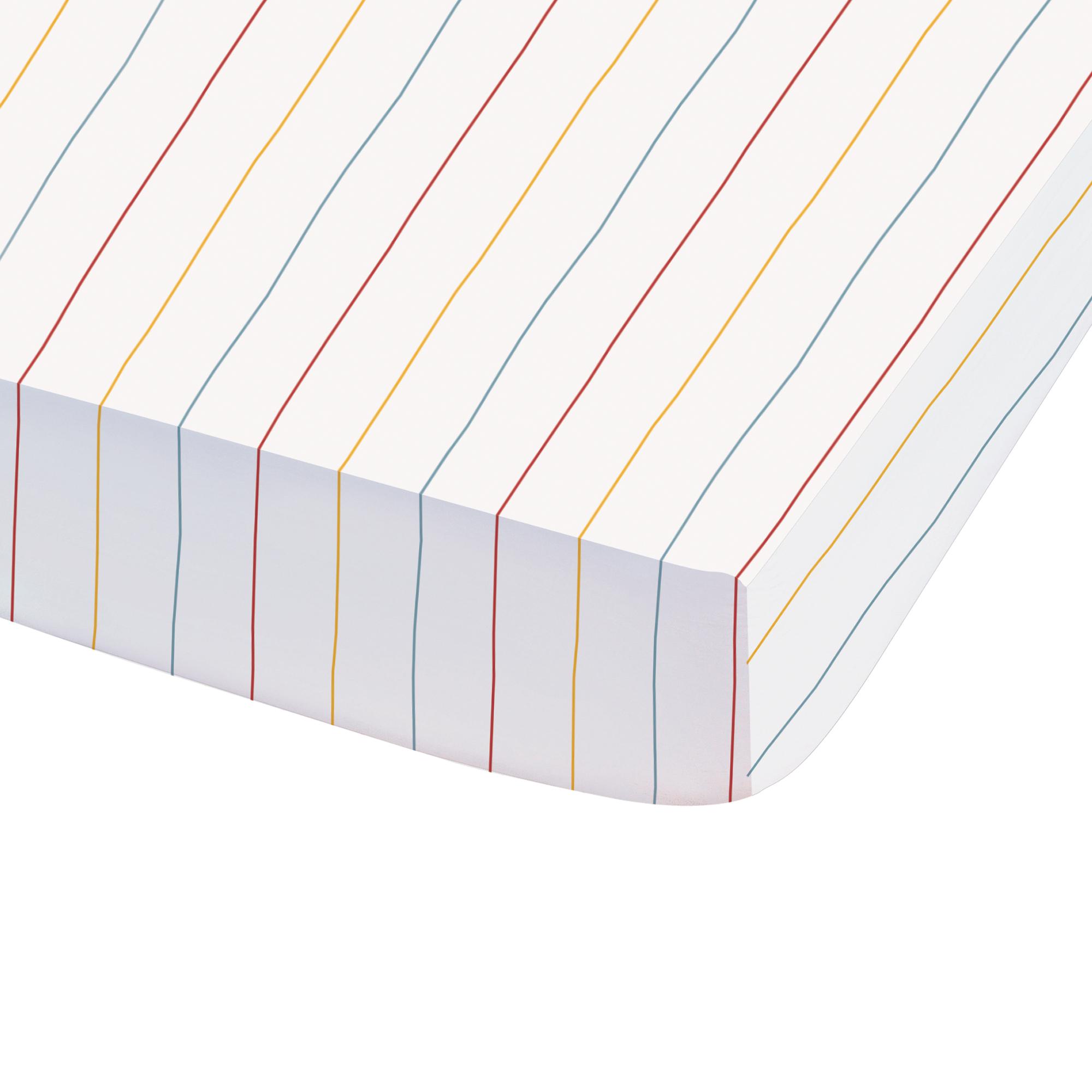 Drap-housse imprimé en coton 90x190 cm