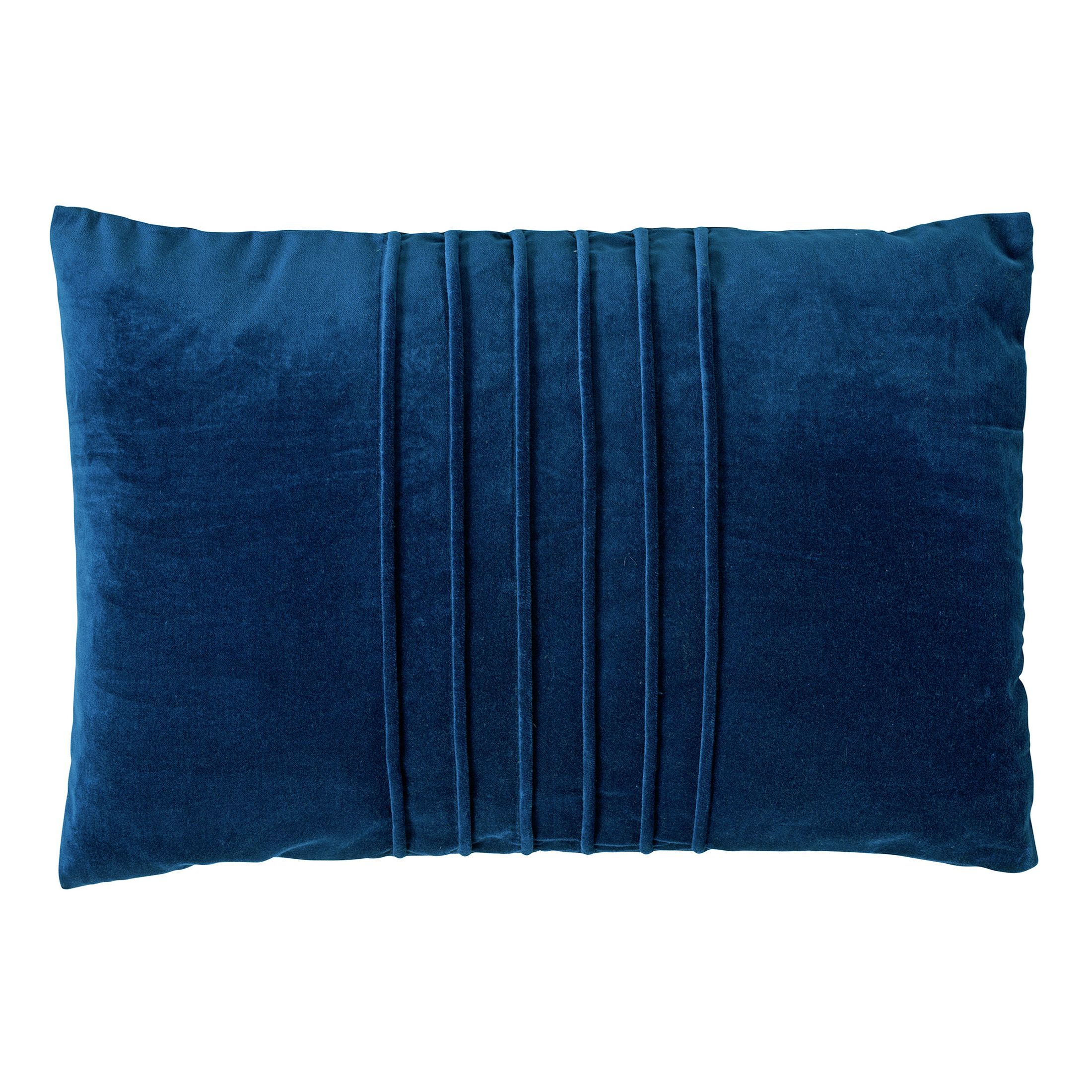 Coussin en velours Bleu saphir 40x60