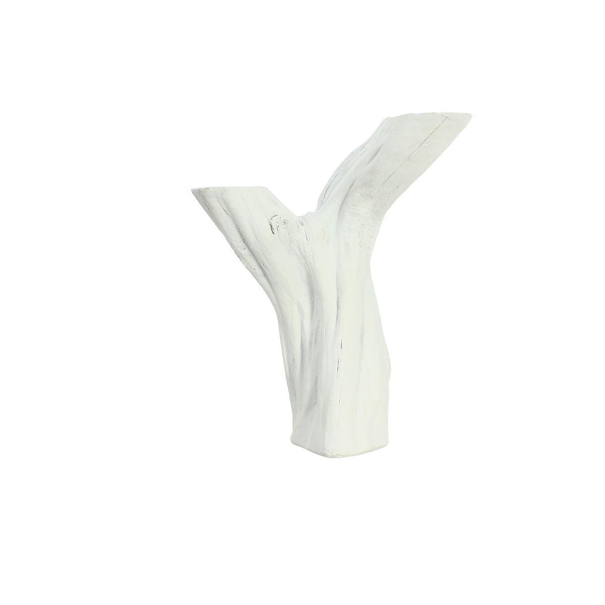 Vase blanc 20,5cm