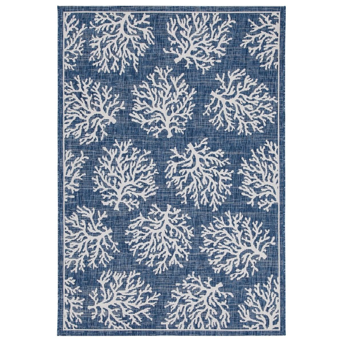 Tapis de salon en Polypropylène Bleu 120x170 cm