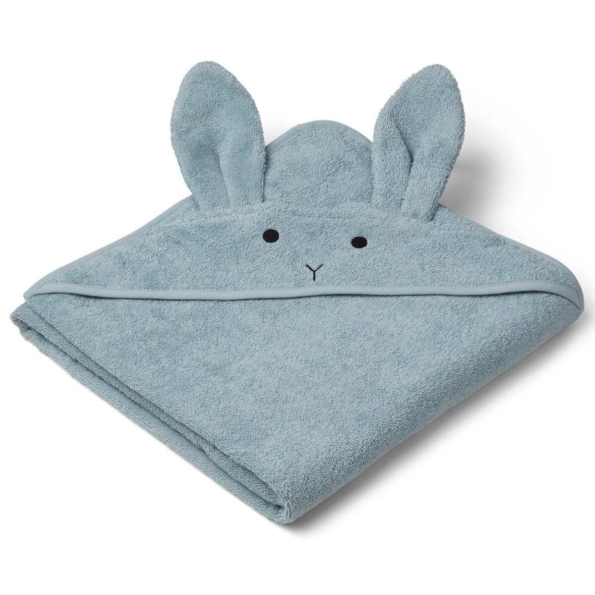Cape de bain augusta rabbit sea bleu