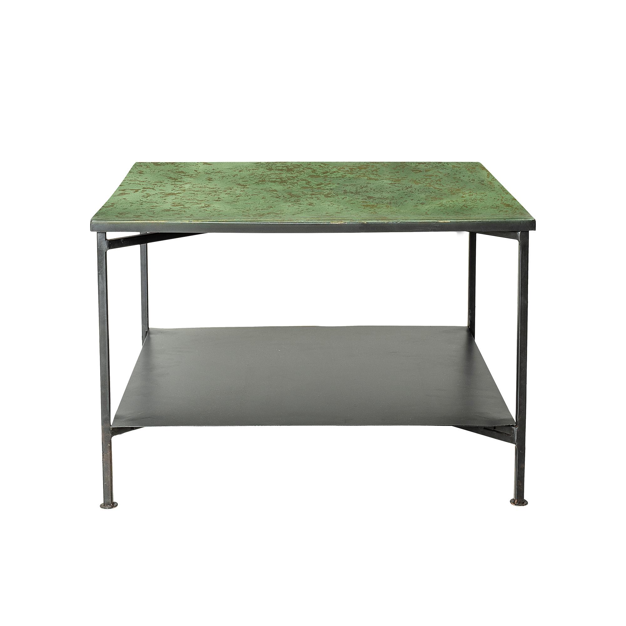 Table basse Eliot métal vert