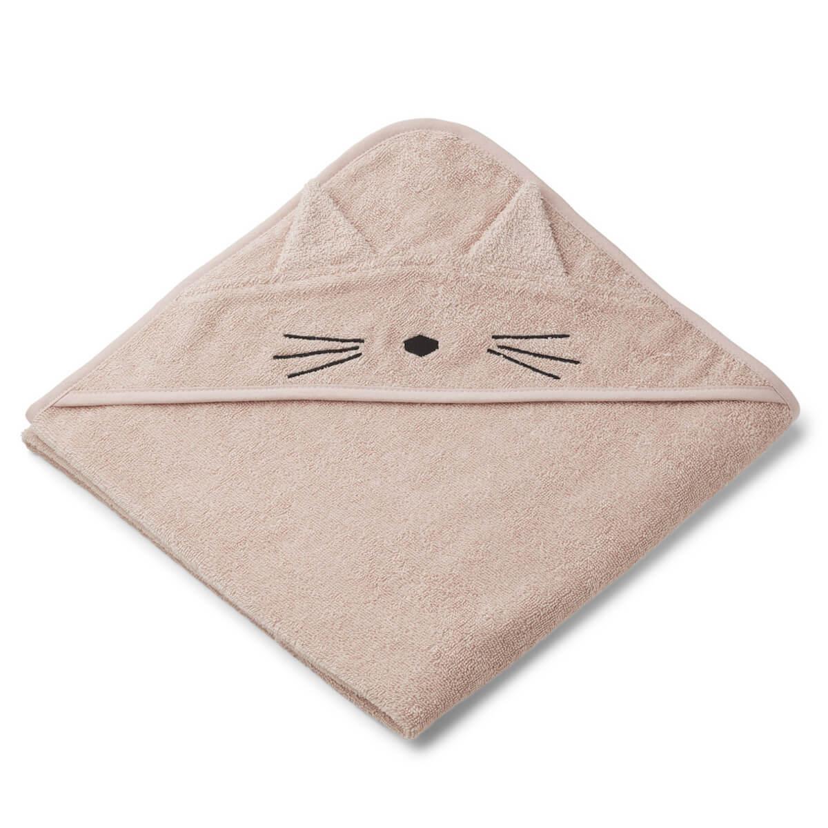 Cape de bain augusta cat rose