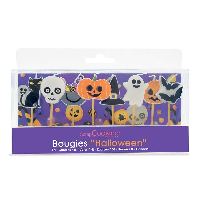 8 bougies d'Halloween