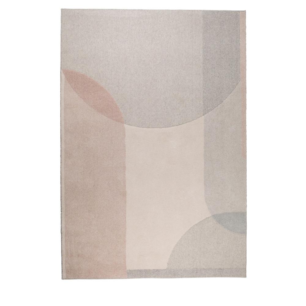 Tapis en tissu rose 160x230 cm