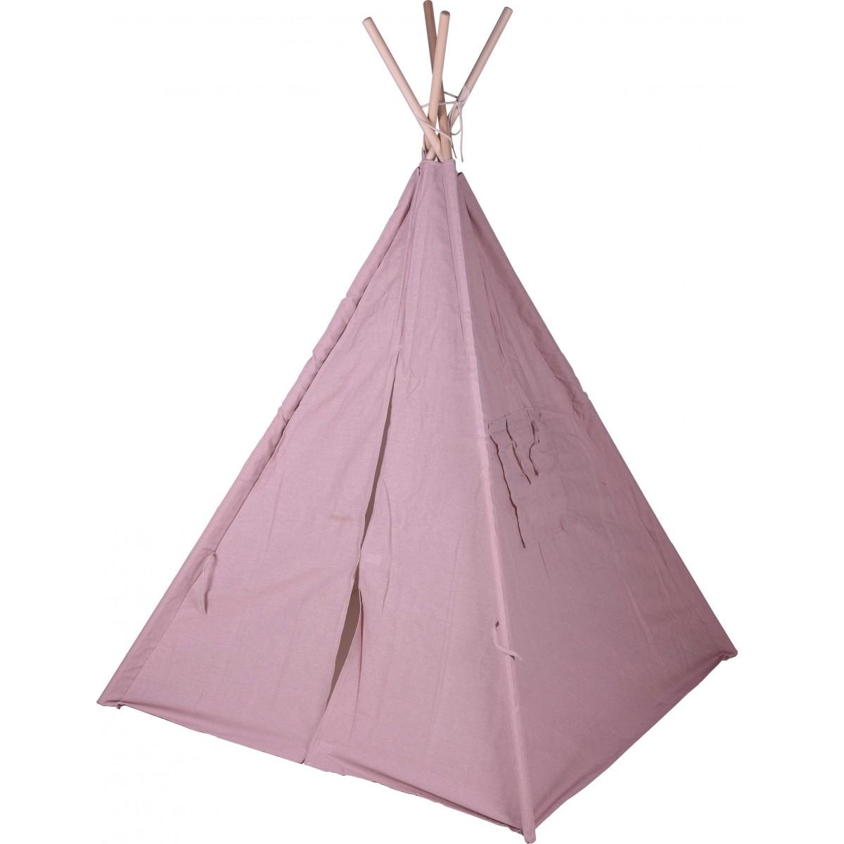Tente de jeu pour enfant tipi rose