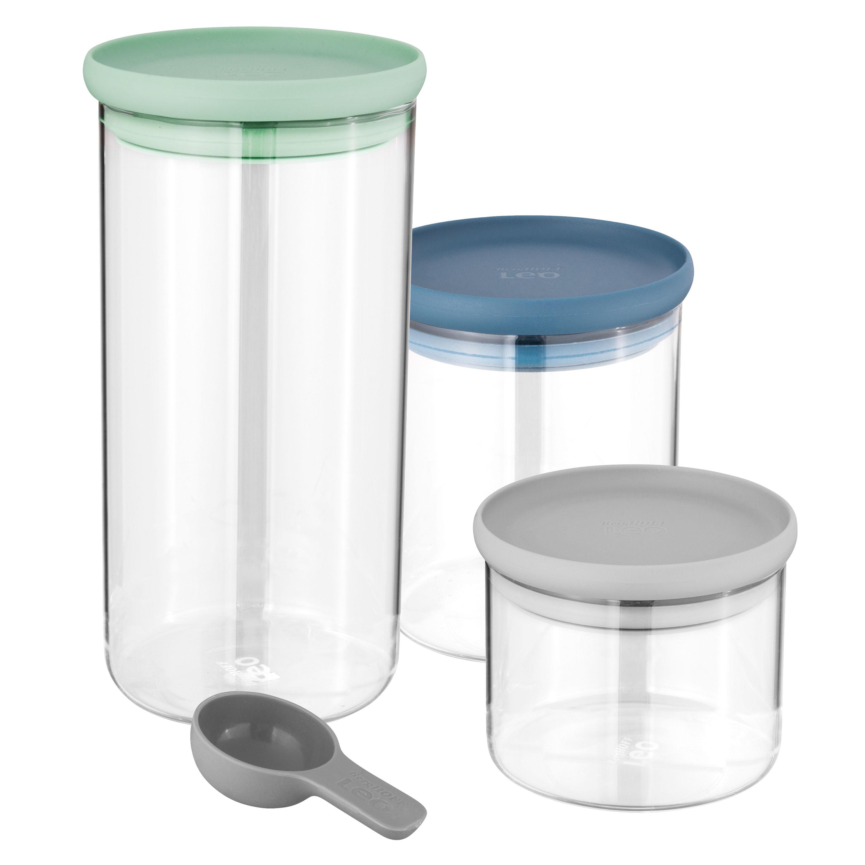 Récipients alimentaires en verre (set de 3 pcs)