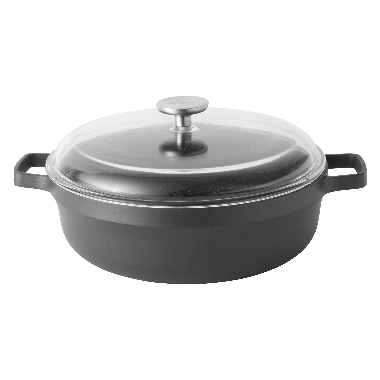 Sauteuse italienne avec couvercle 28 cm