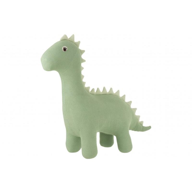 Dinosaure en coton vert