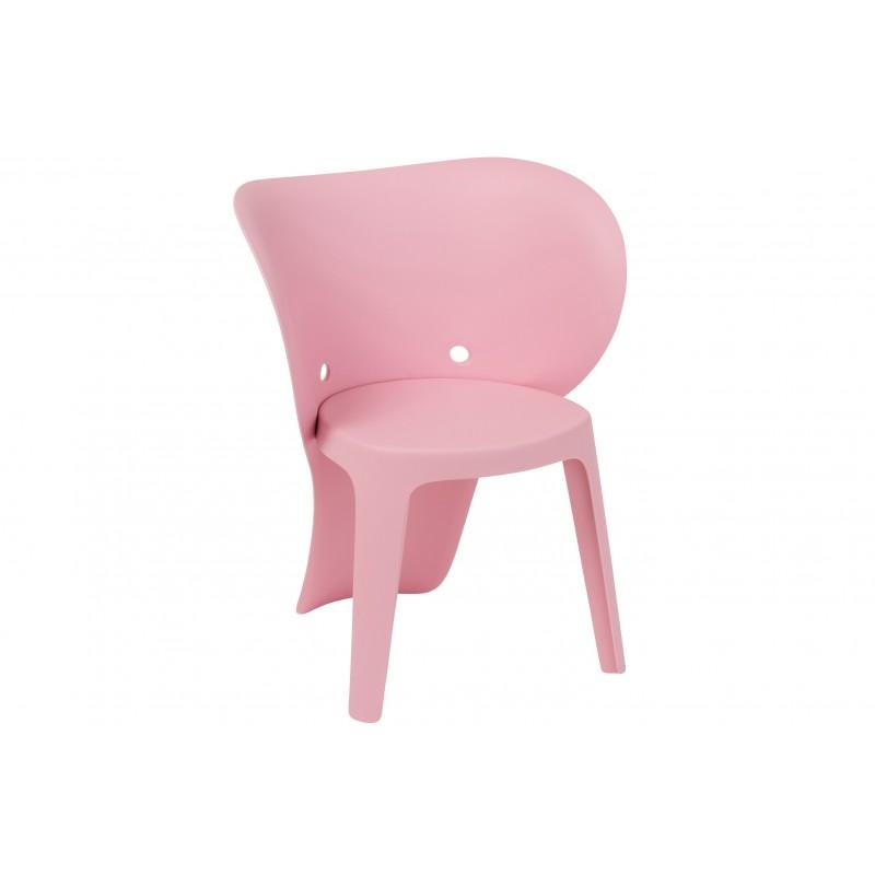 Chaise enfant éléphant rose