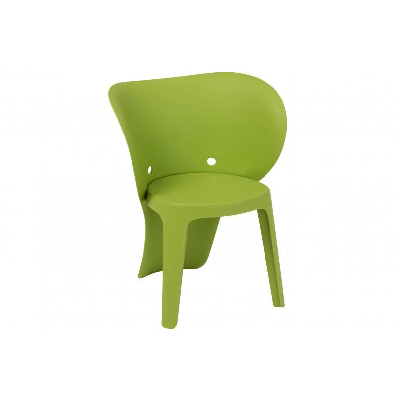 Chaise enfant éléphant verte