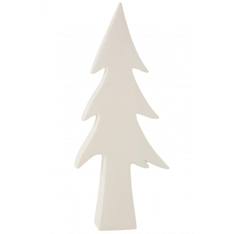 Arbre céramique blanc H54,6cm