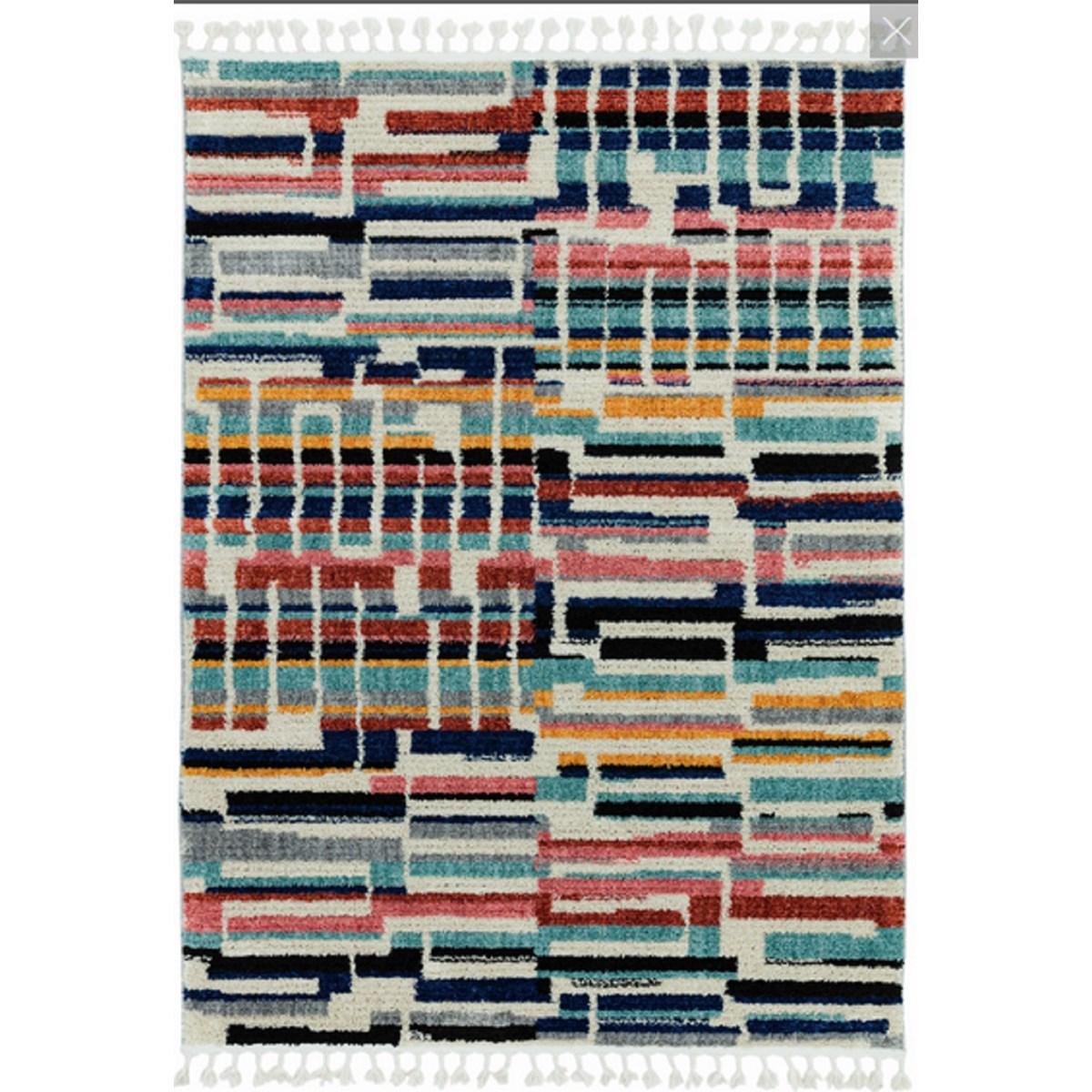 Tapis style berbère en Polyester Multicolore 160x230 cm