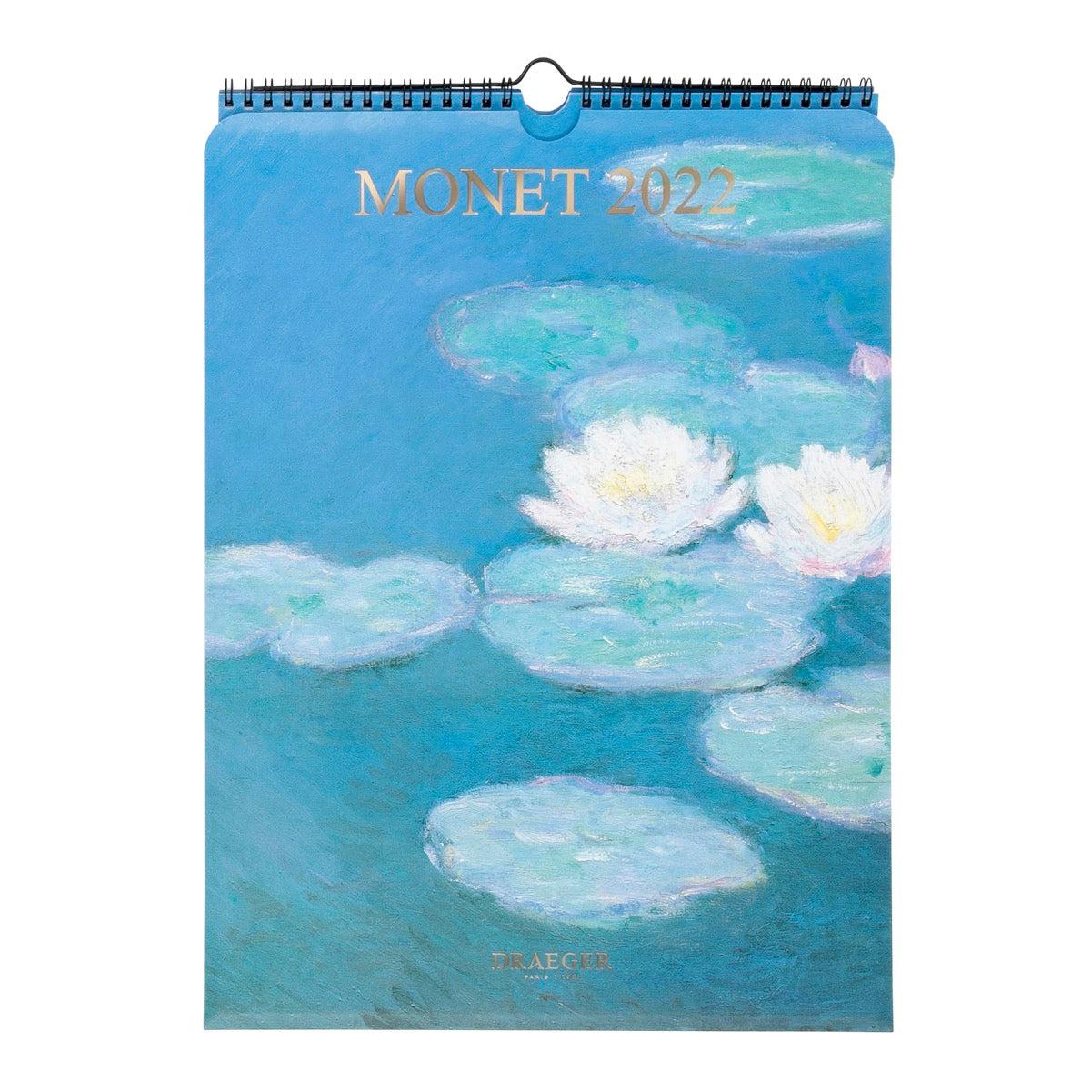 Calendrier Mural Déco 2022 - Monet