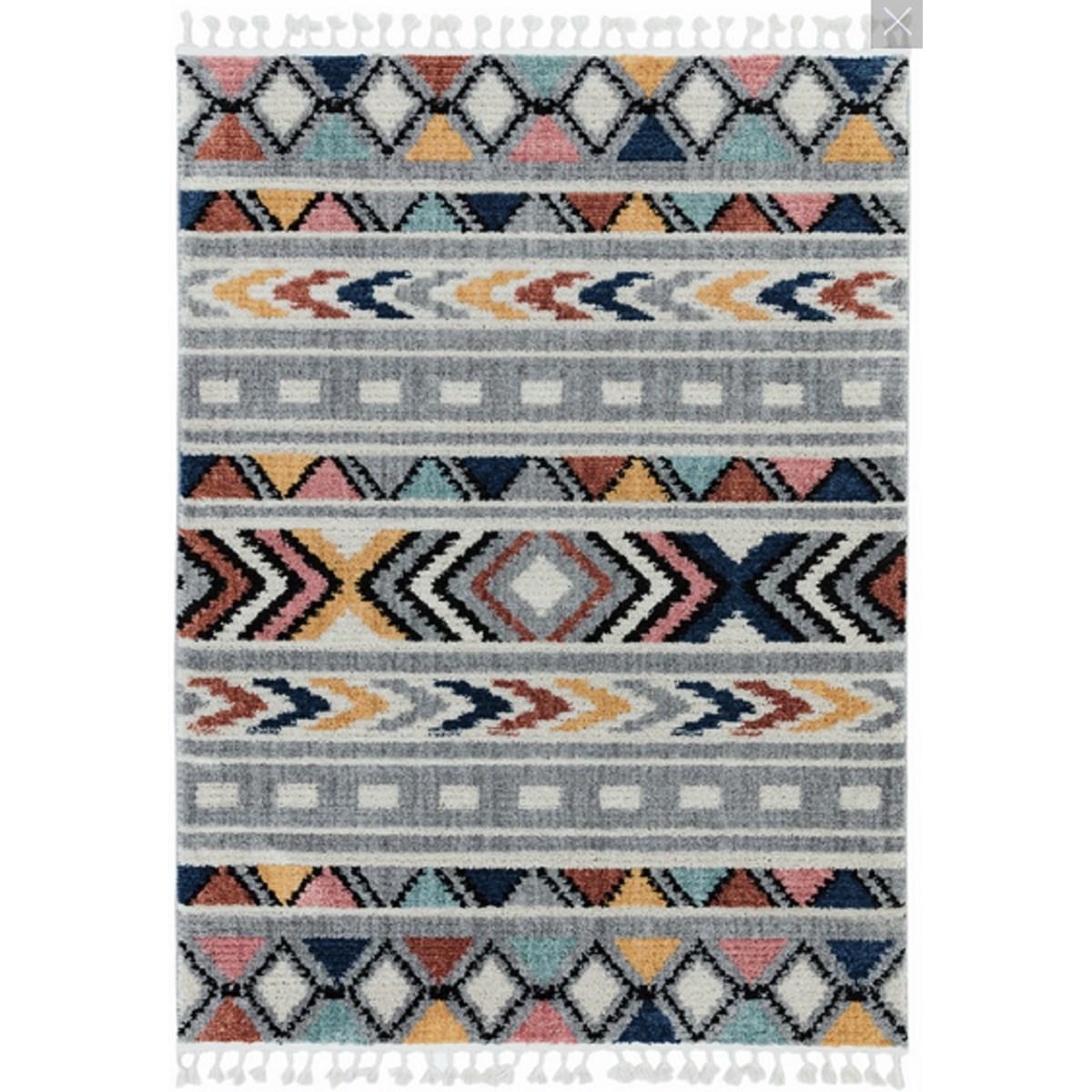 Tapis style berbère en Polyester Multicolore 120x170 cm