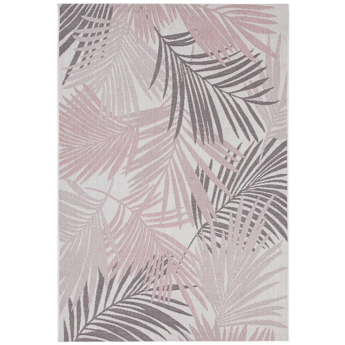 Tapis de salon en Polypropylène Rose 200x280 cm