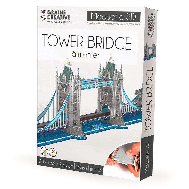 Maquette Tower Bridge à construire soi-même Enfant