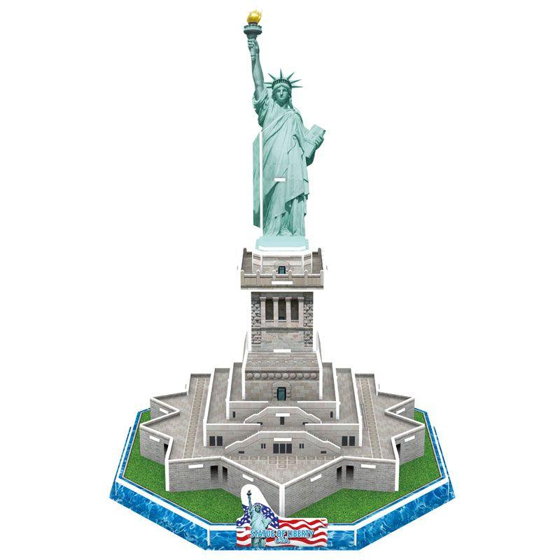 Maquette Statut de la Liberté à construire soi-même Enf