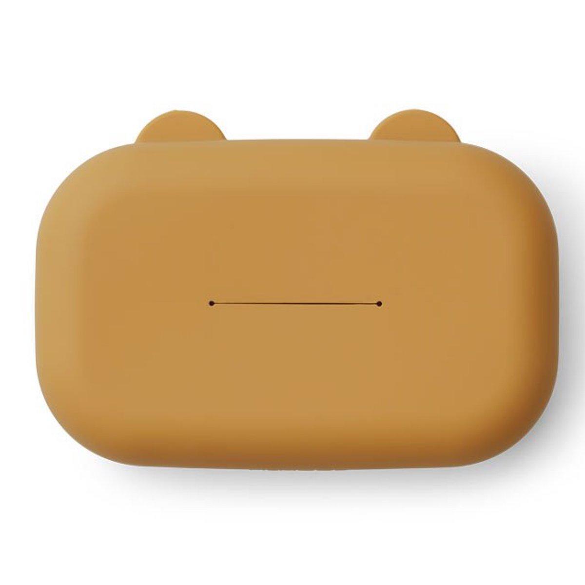Box à lingettes emi golden caramel
