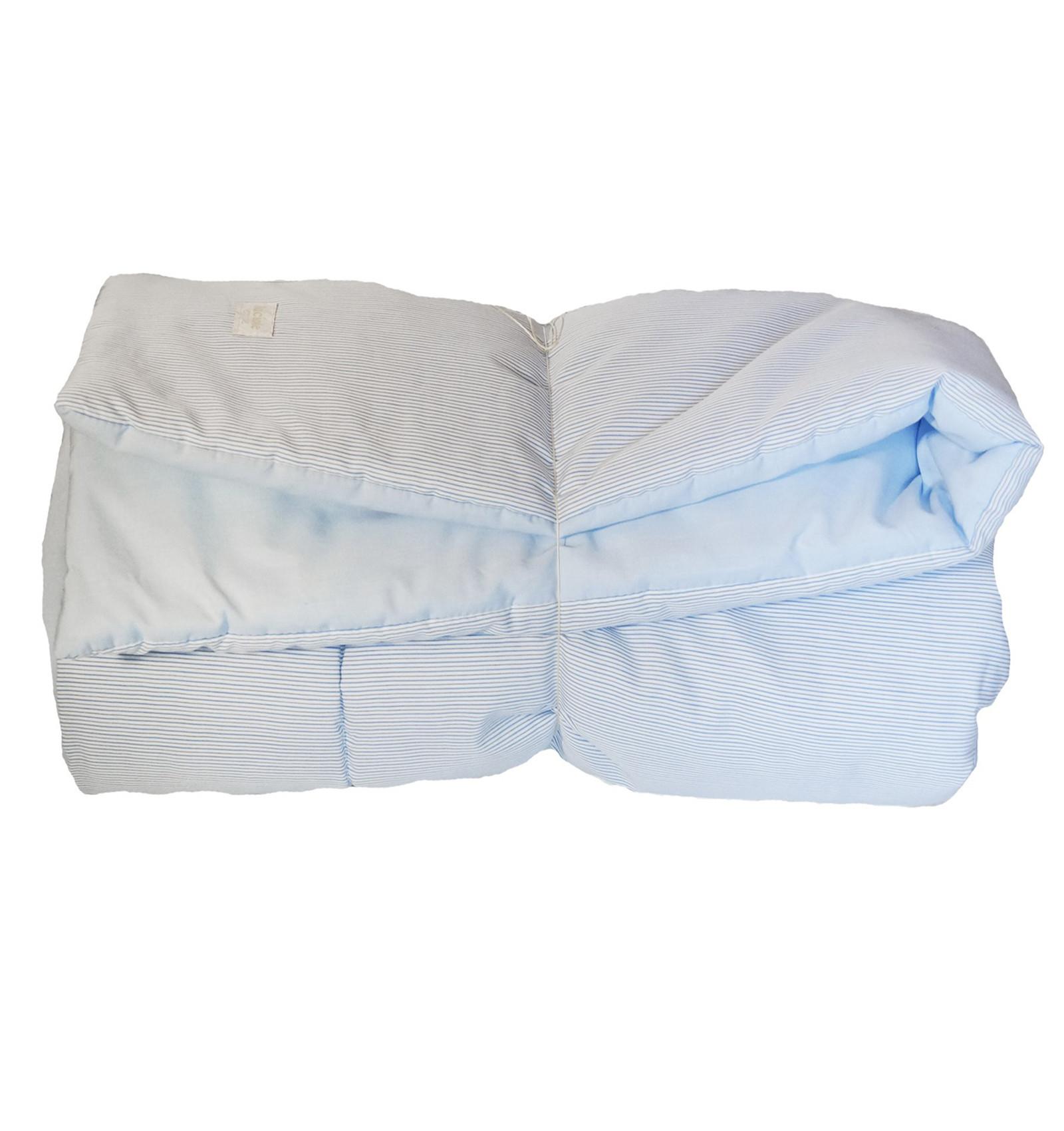 Tapis de jeu bébé en coton oeko-tex à rayures 100x100 cm