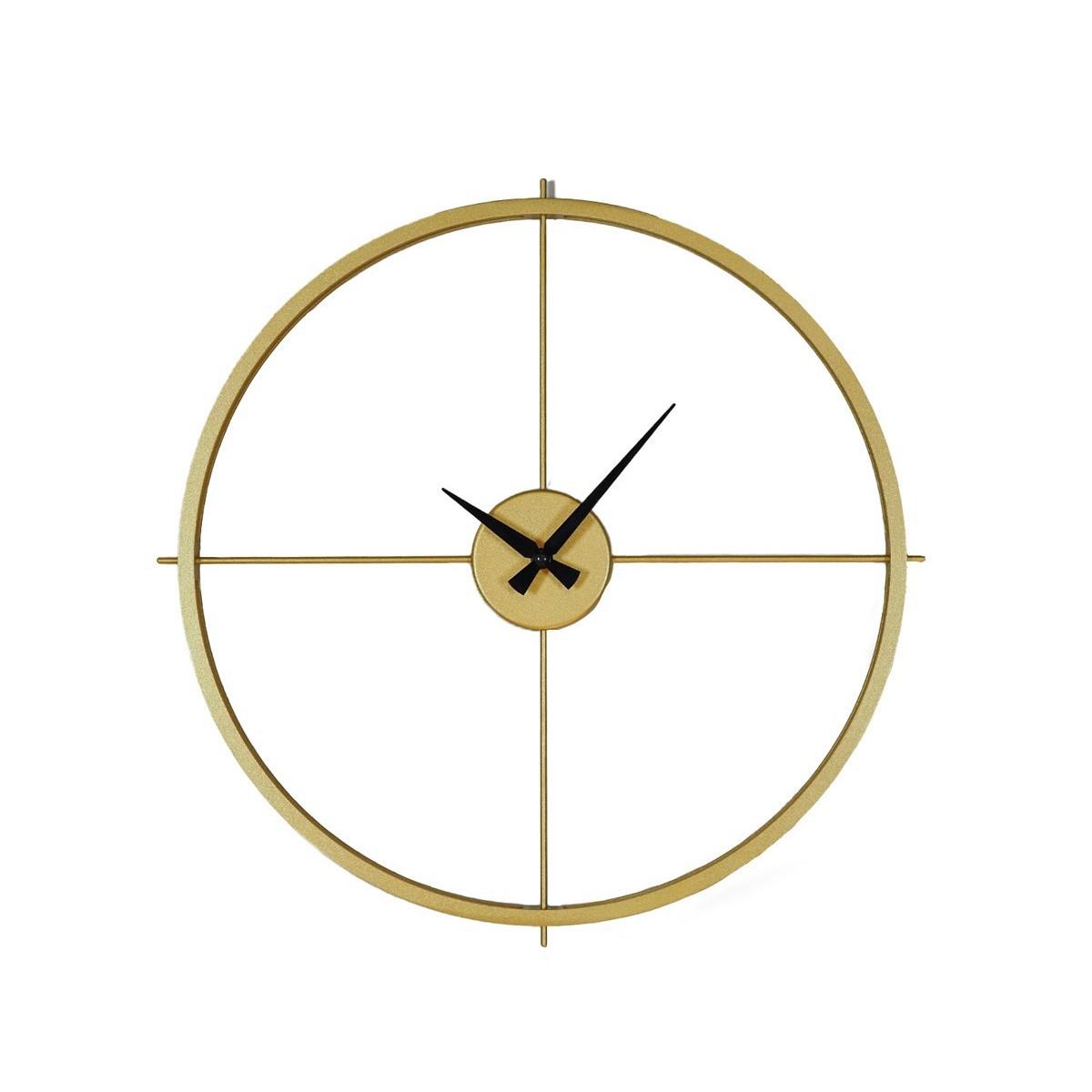 Horloge murale arcadia Or 70x70