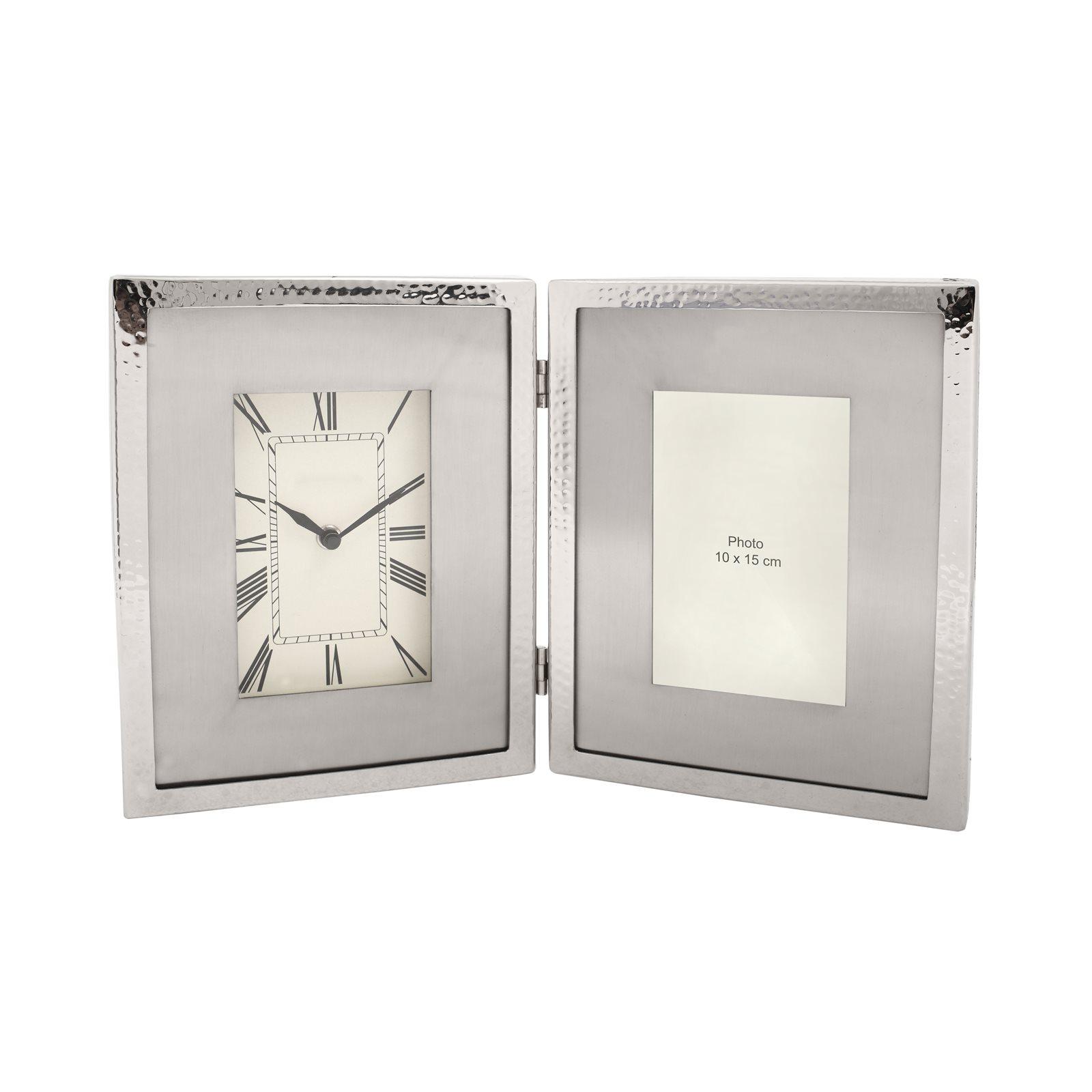 Horloge de table Argent 3x40x25