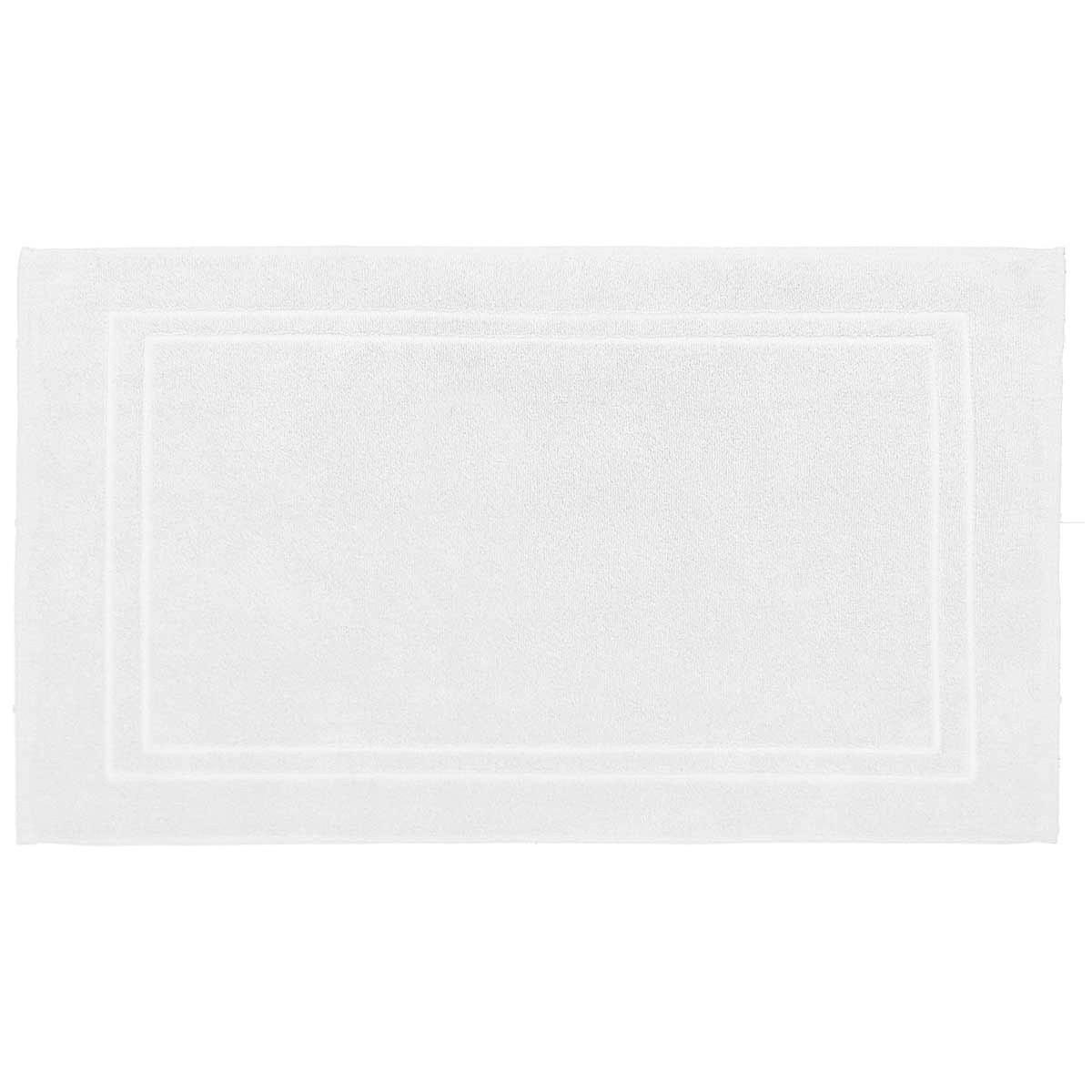 Tapis de bain 900gr/m² Blanc 50x80 cm