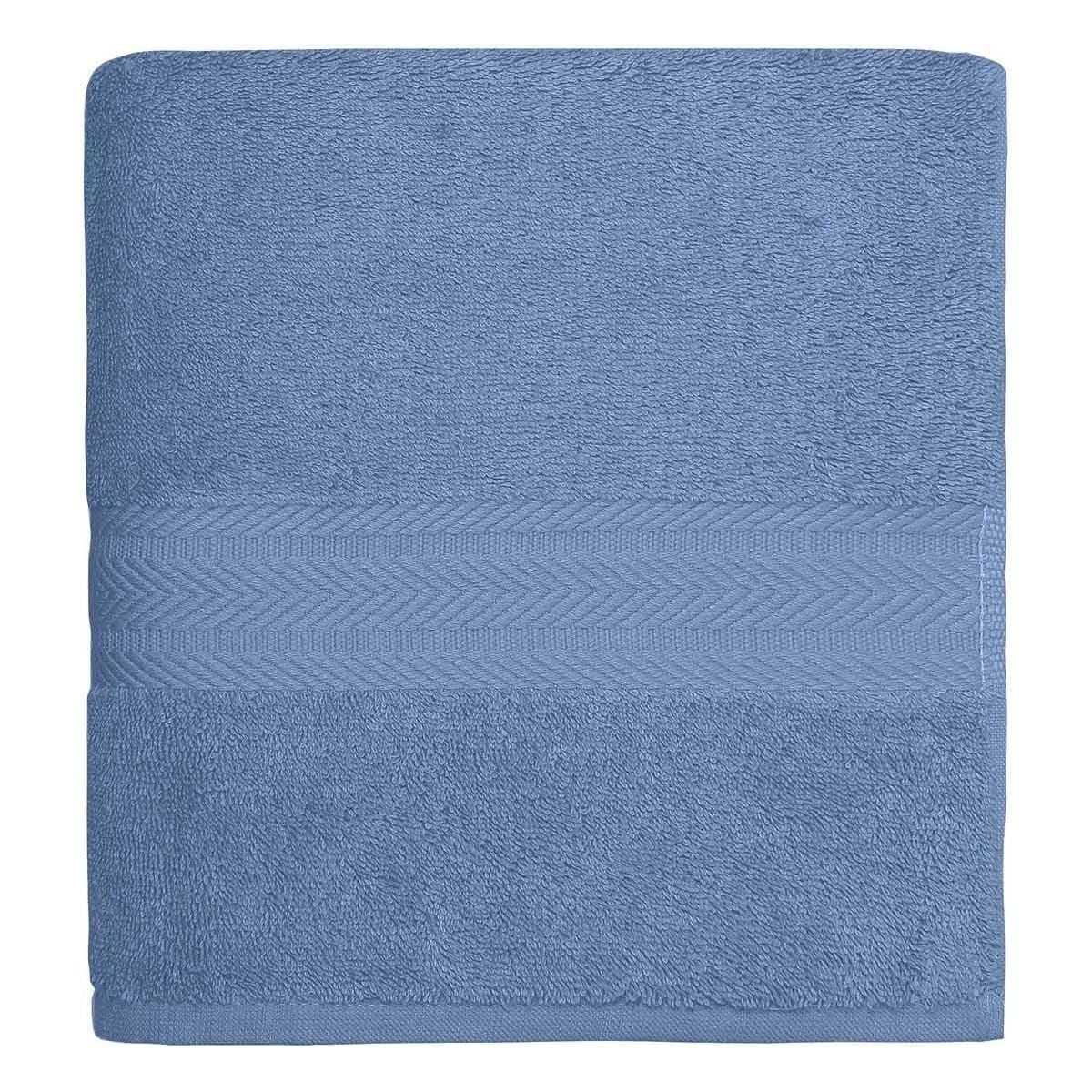 Drap de bain 550gr/m²  Cobalt 70x140 cm