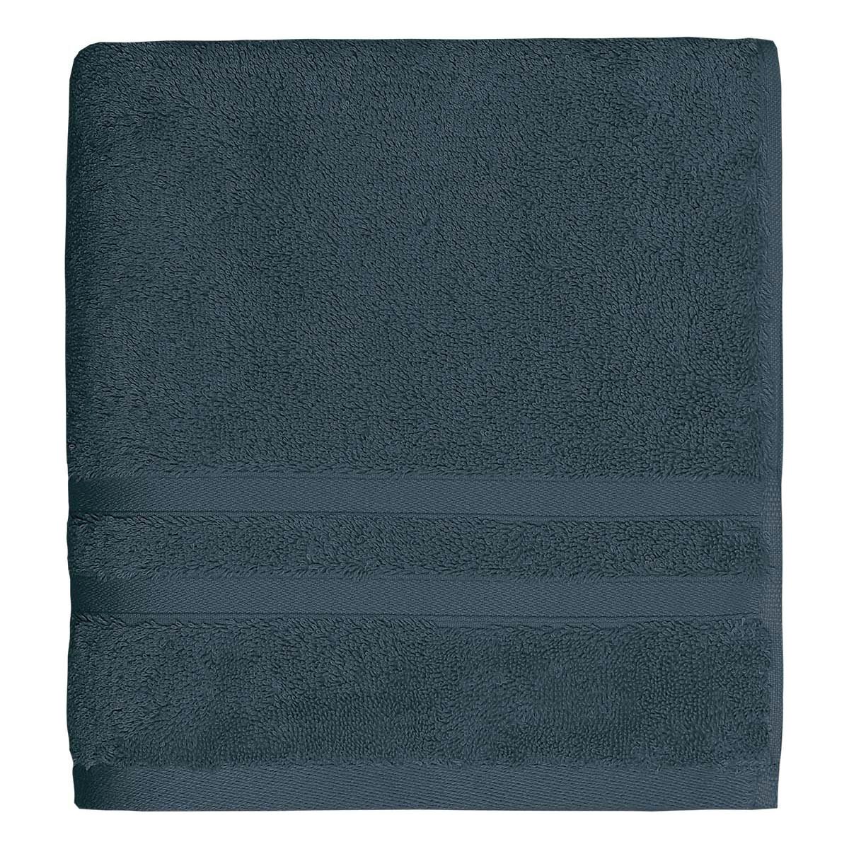 Drap de bain 600gr/m² Indigo 70x140 cm