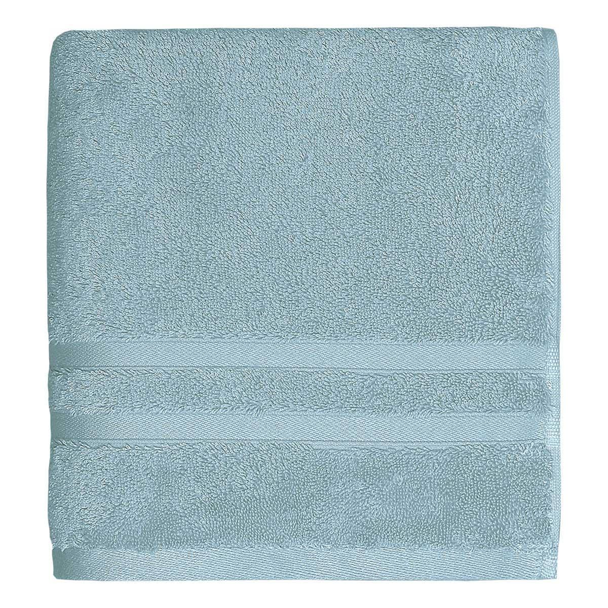 Drap de bain 600gr/m² Bleu Arctic 70x140 cm