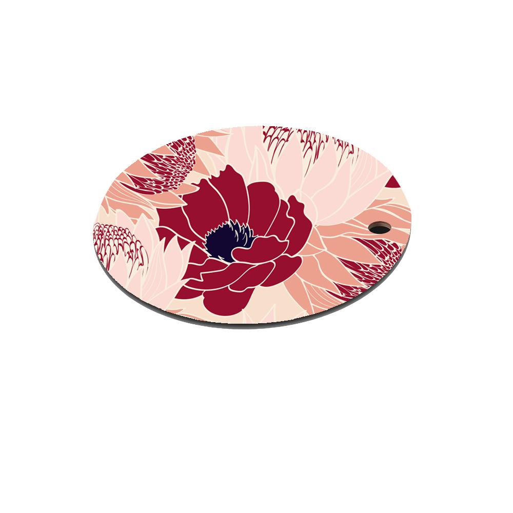 Dessous de plat en bois bloom