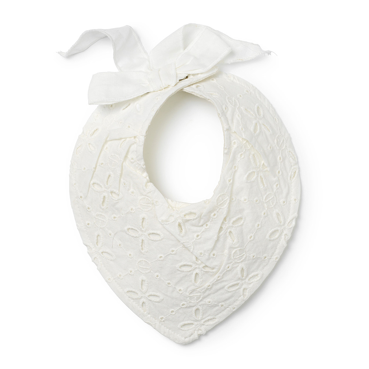 Bavoir bandana avec noeud