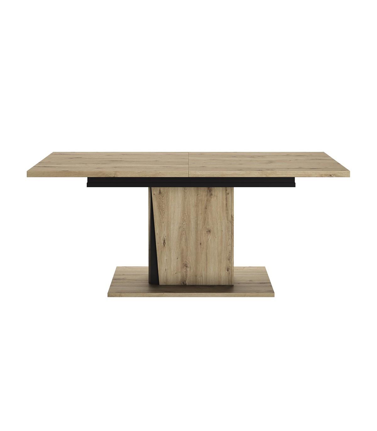 Table  à manger extensible 180/225 cm - Marron