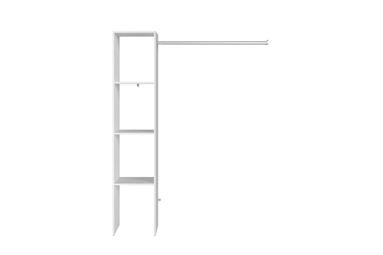 Dressing étagères, penderie 138 x 40 x 180 cm