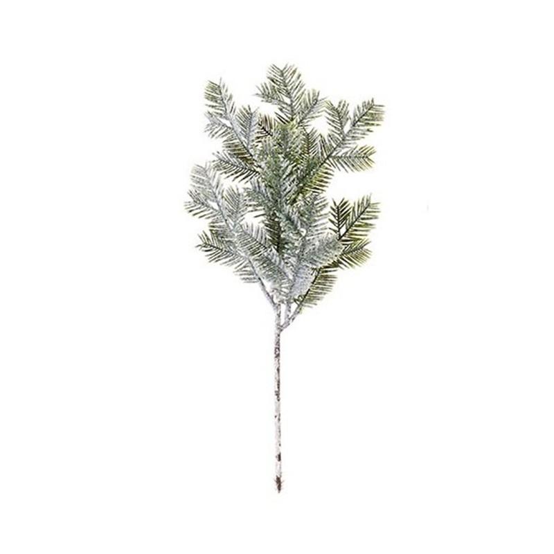 Branche de sapin blanchie H35cm