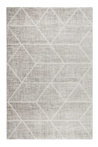 BOSSA LOUNGE - BOSSA LOUNGE - Tapis graphique à poils courts multicolore 200x133