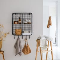 SONA - Patère de salle de bain en métal 50 cm