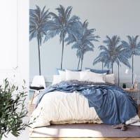 PALMIERS - Papier peint panoramique palmiers 170x250
