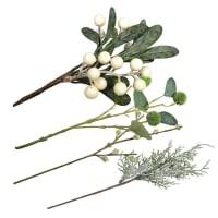 BRANCHES - 4 branches pour décoration de Noël