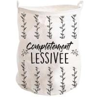 COMPLÉTEMENT LESSIVÉE - Corbeille à linge complètement lessivée H50cm