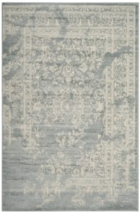 Tapis de salon contemporain gris ardoise et ivoire 160x230