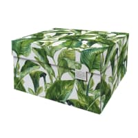 GREEN LEAVES - Boite de rangement 39,5x32cm