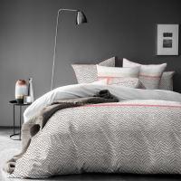 ESPRIT SAVANE - Parure de lit imprimée en coton 140x200 cm