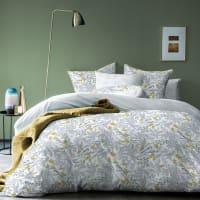 BIRD - Parure de lit imprimée en coton 240x220 cm