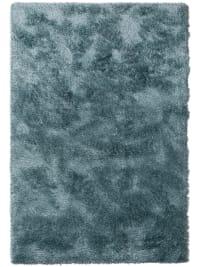 SOPHIA - Tapis à poils longs bleu 140x200